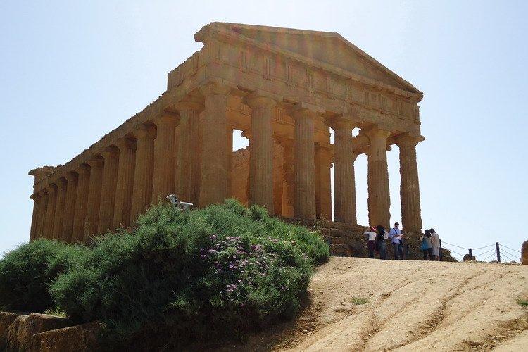 Agrigento Sicilie