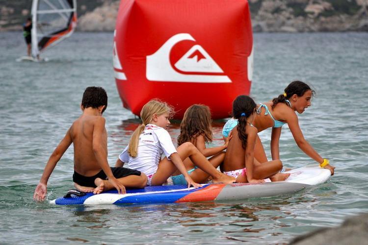 Porto Pollo Surfen